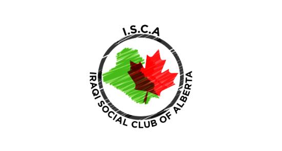 iraqi social club of alberta isca logo 2